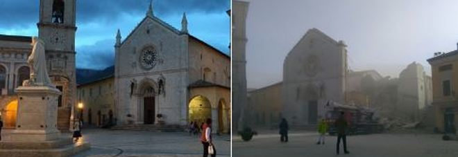 New Earthquake Strikes Umbria, Italy:  Church of San Benedetto da Norcia Collapses [GALLERY]